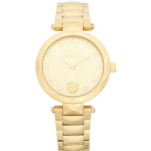 Versace Versus Gold Tone 36mm Ladies Watch!